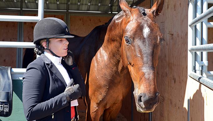 Airman pursues equestrian passion