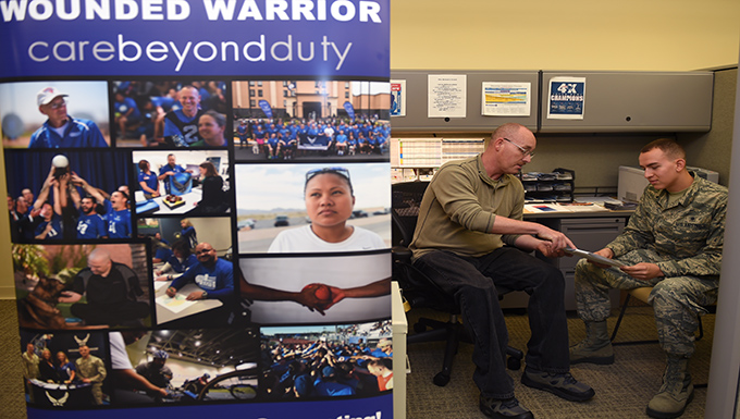 Overcoming challenges - McChord's Wounded Warriors