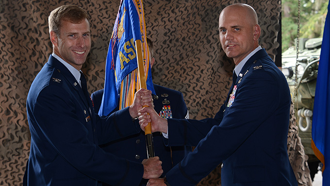 1st Air Support Operations Group welcomes new commander
