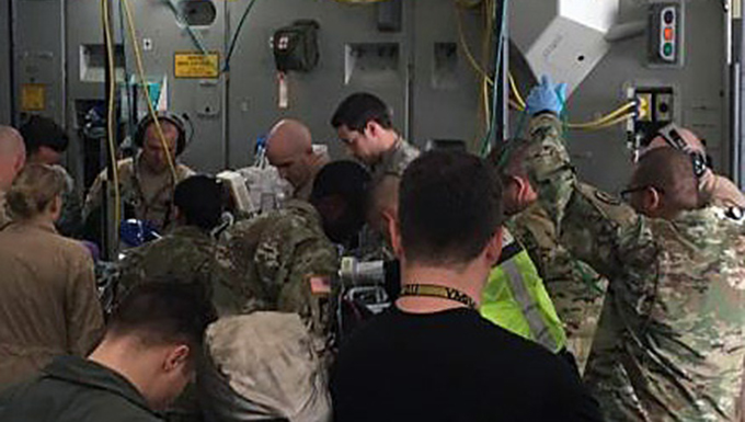Airmen Complete Life-Saving Mission