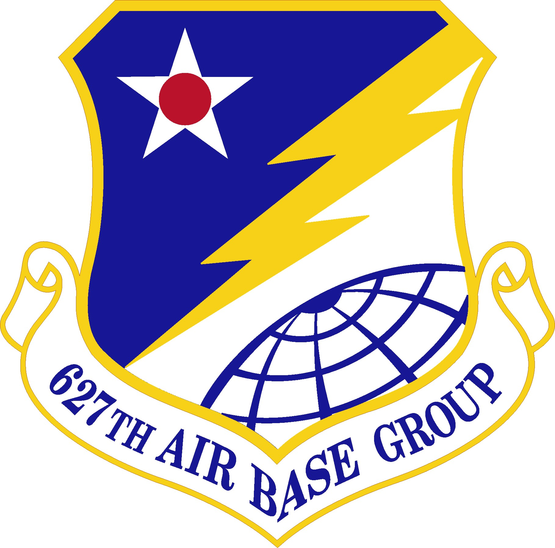 627th Air Base Group unit patch