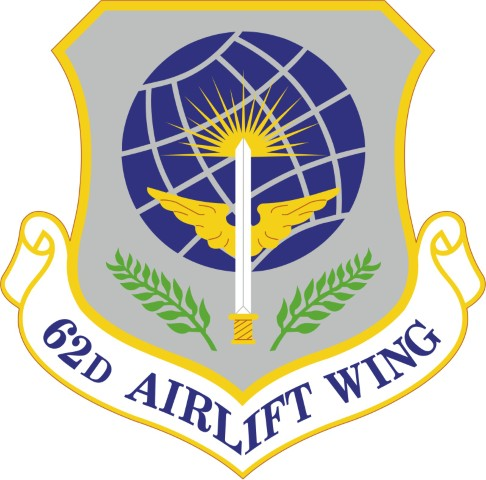 62nd Airlift Wing Shield